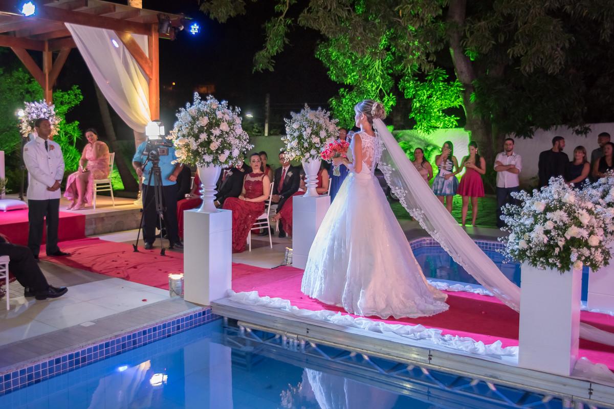 Entrada da noiva Villa Honda Jacobina