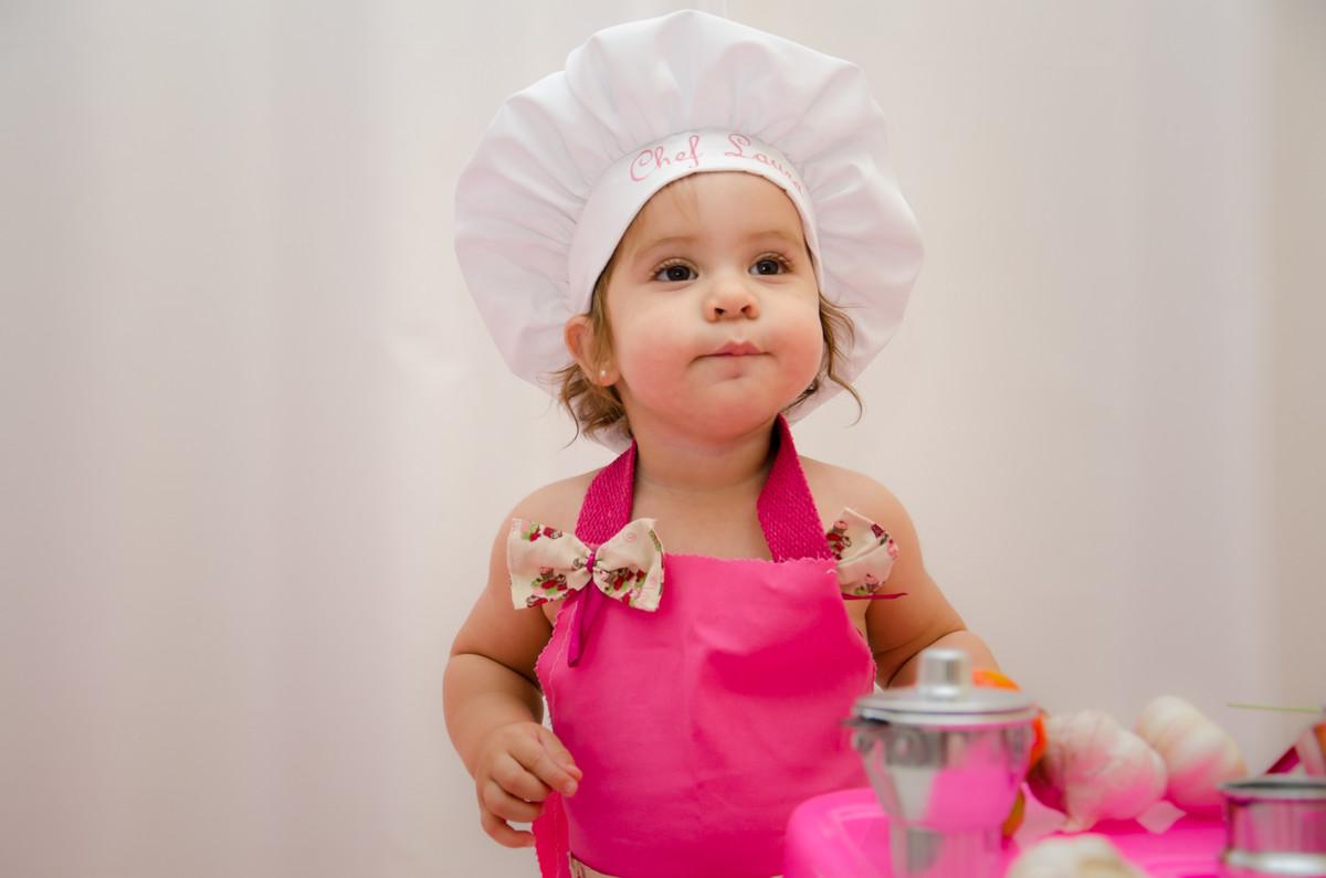 ensaio de criança cozinha