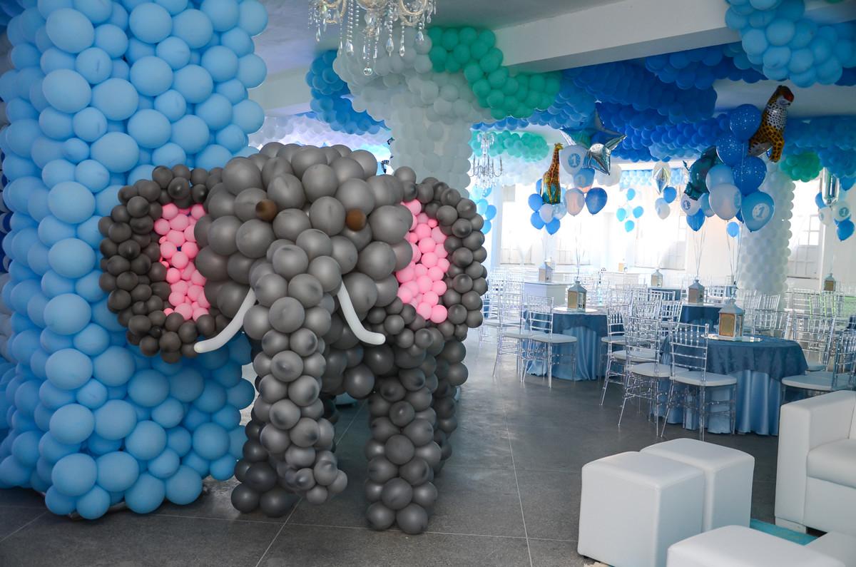 Festa com balões em Jacobina