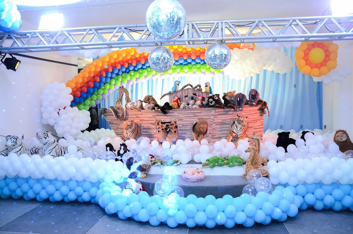 A Arca de Noé aniversário infantil