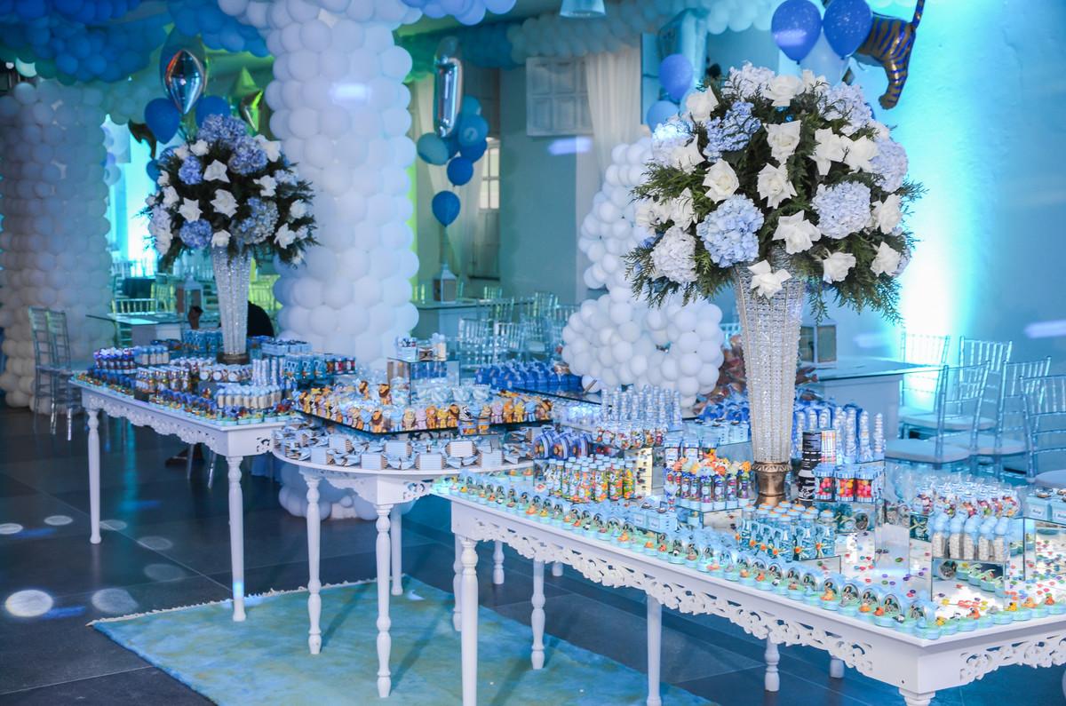 Mesa de doces em aniversário
