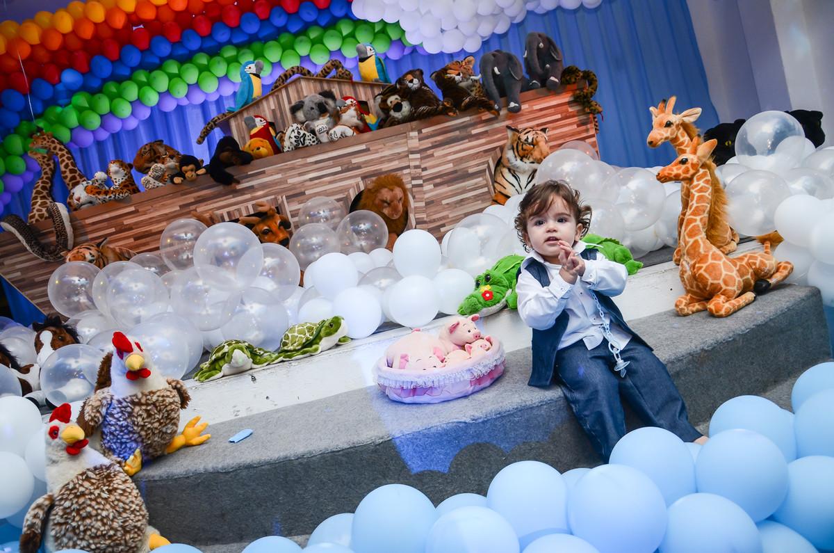 Luigi na festinha de um ano