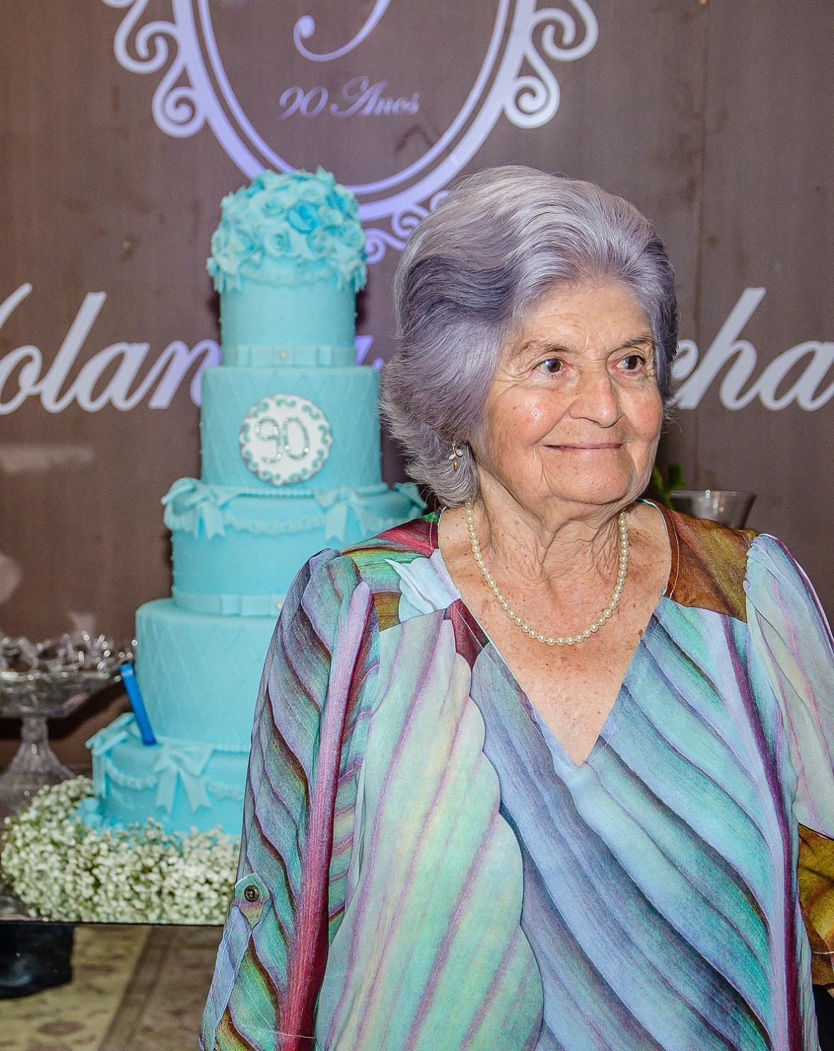 Yolanda Rocha 90 anos