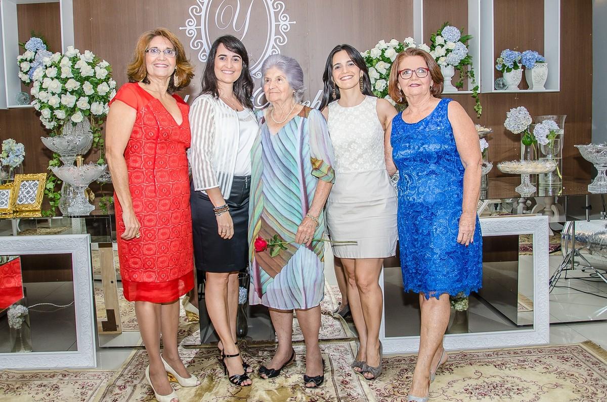 Yolanda Rocha e família