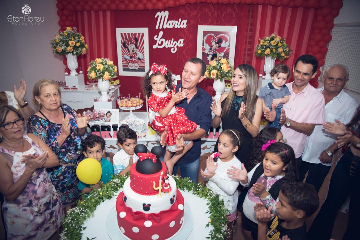 Hora do bolo aniversário Jacobina