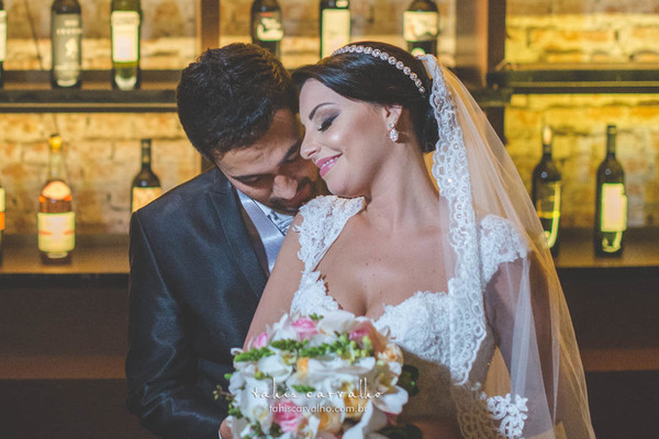 Fotografias de casamento de Natália e Diego