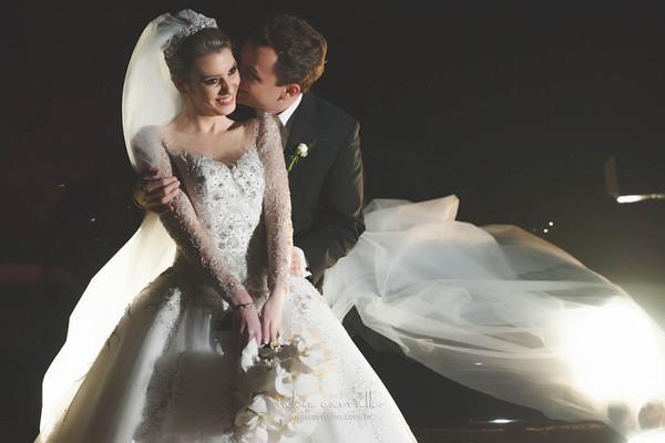 Fotografias de casamento de Poliana e Marcelo