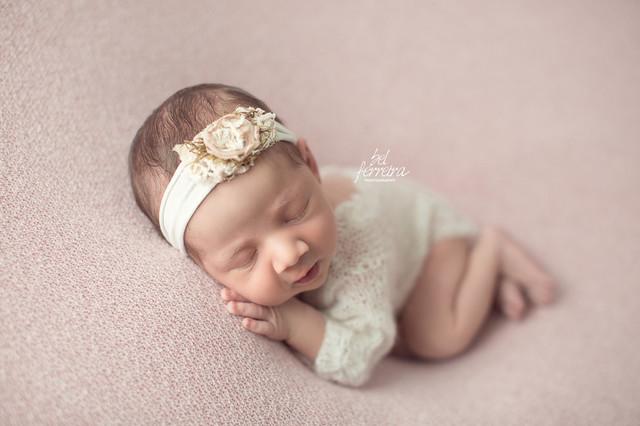 Newborn de Book recém-nascido Olívia