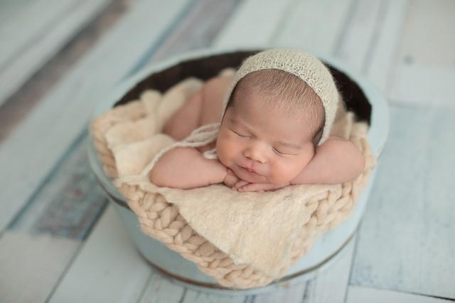 Ensaios de Newborn de Gabriel