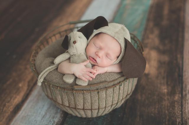 Ensaios de Newborn de Guilherme