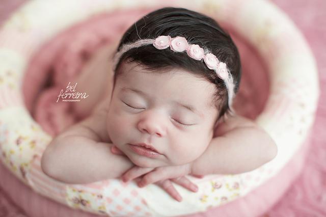 Ensaios de Newborn de Book Newborn Cecília