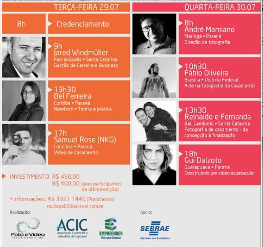 Imagem capa - Cascavel Image Conference por Bel Ferreira