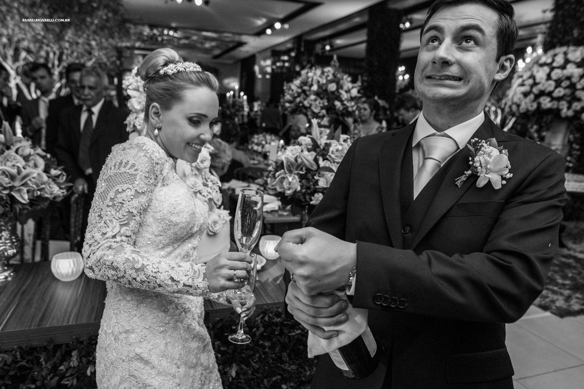 corte do bolo champgne casamento