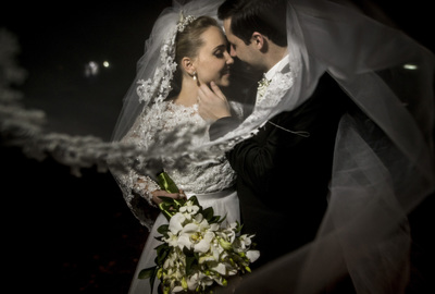 Capa do álbum do Wedding de Carol + Matheus fotografados por Rafael Bigarelli Fotógrafo de casamento