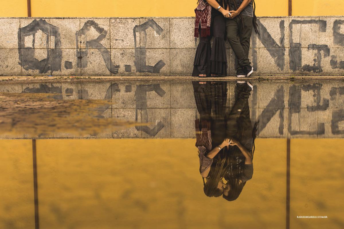 fotos com reflexo na agua