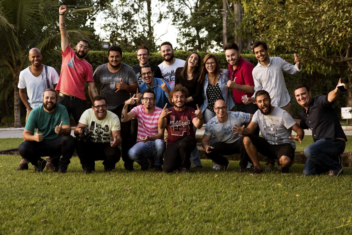 Capa do album das fotos do Workshop de Thaís e João