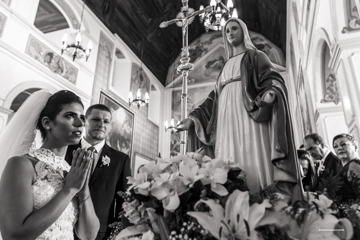 fé casamento preto e branco