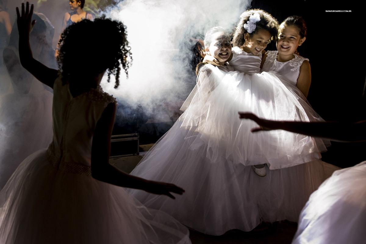daminhas no casamento