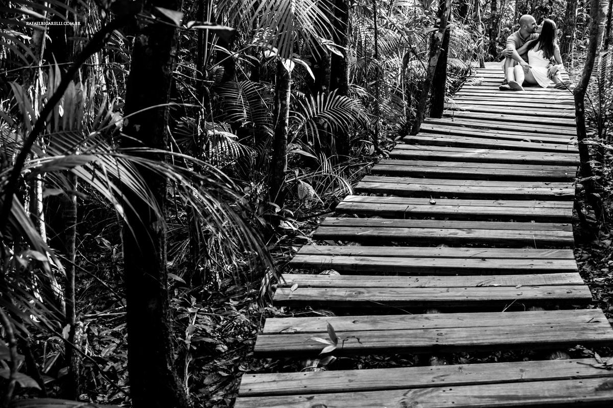 linhas floresta preto e branco casamento