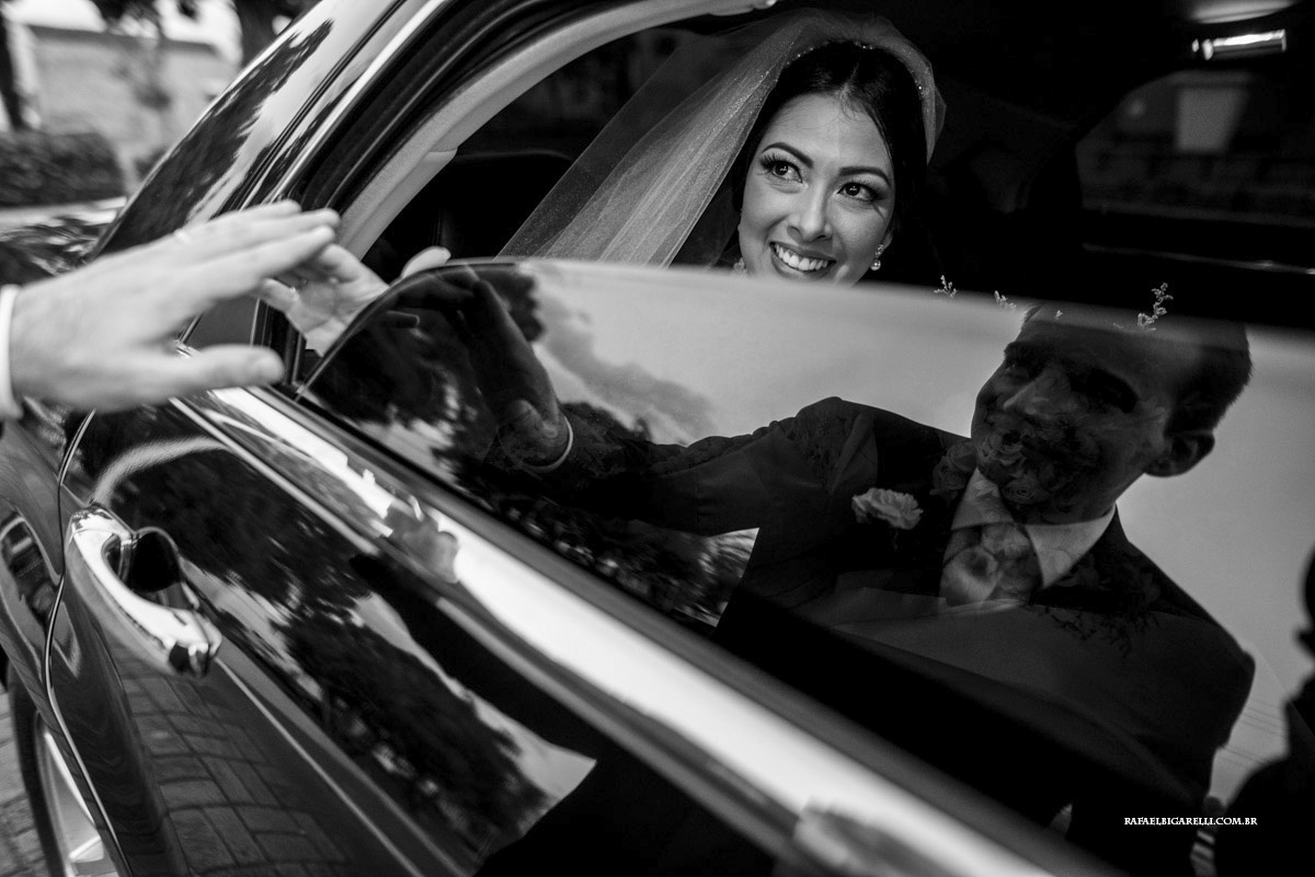 preto e branco noiva