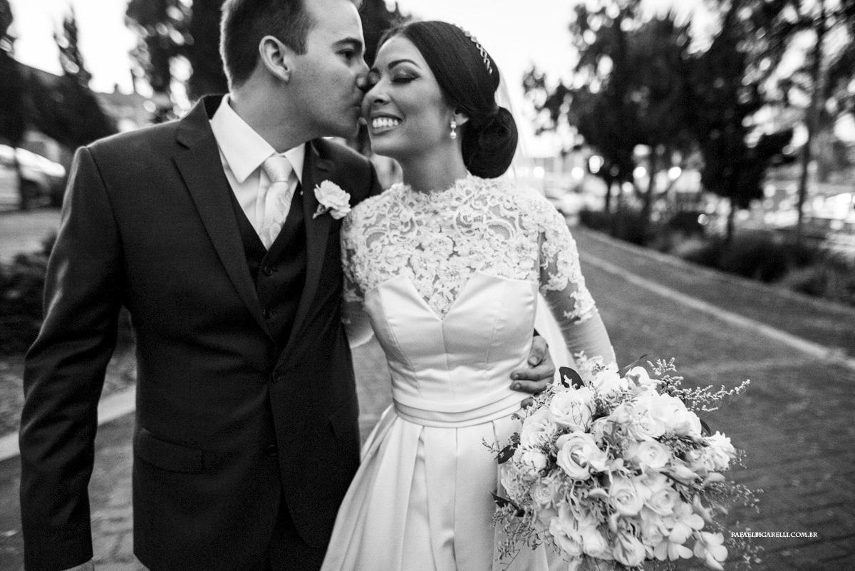 Capa do album das fotos do Casamento de Luciana + Bruno