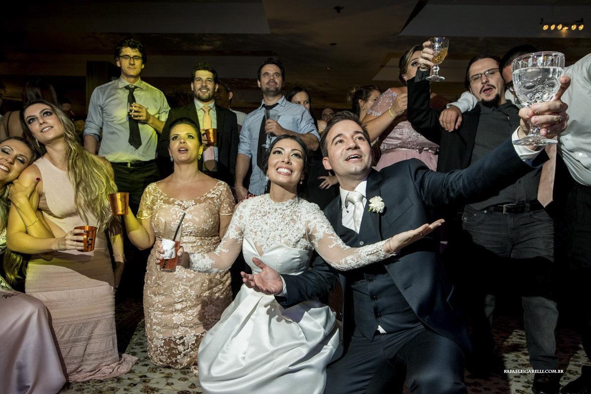 boate azul no casamento