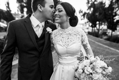 Capa do álbum do Wedding de Luciana + Bruno fotografados por Rafael Bigarelli Fotógrafo de casamento