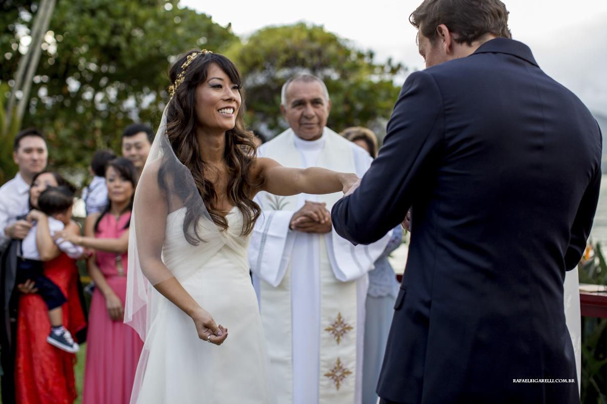 troca das alianças casamento