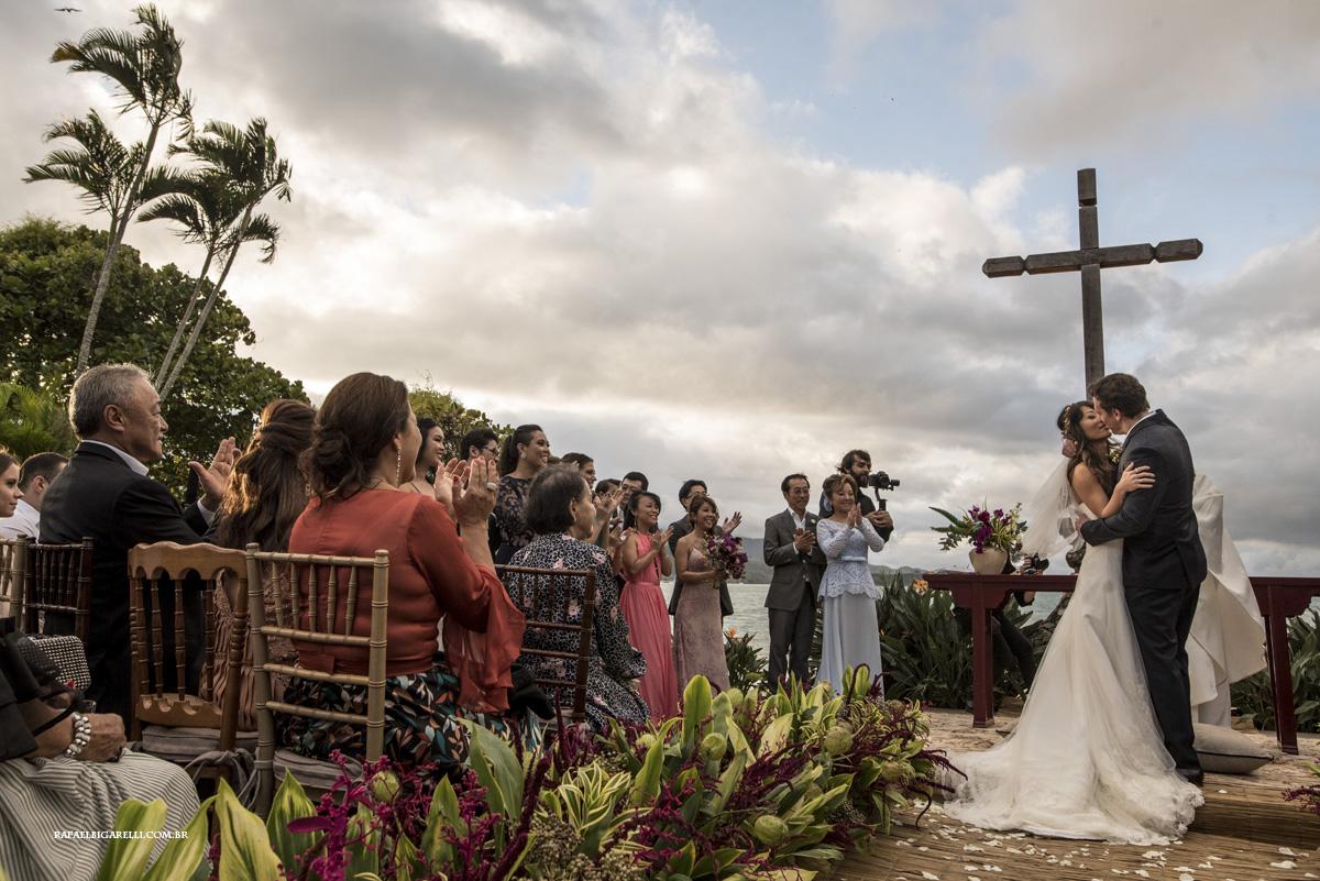 beijo casamento fazenda sao mathias