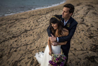 Capa do álbum do Wedding de Leila + Guzera fotografados por Rafael Bigarelli Fotógrafo de casamento