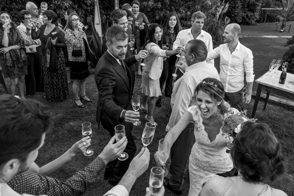 brinde no casamento