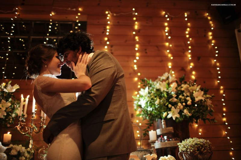 Capa do album das fotos do Wedding de Alessandra + Renan