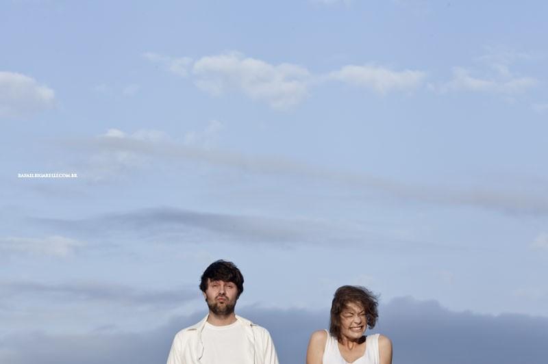 Capa do album das fotos do Pré - Wedding de Angela + Rafael