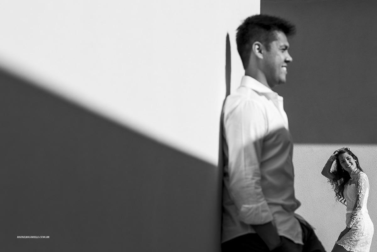Capa do album das fotos do Pré - Wedding de Mi + Bruno