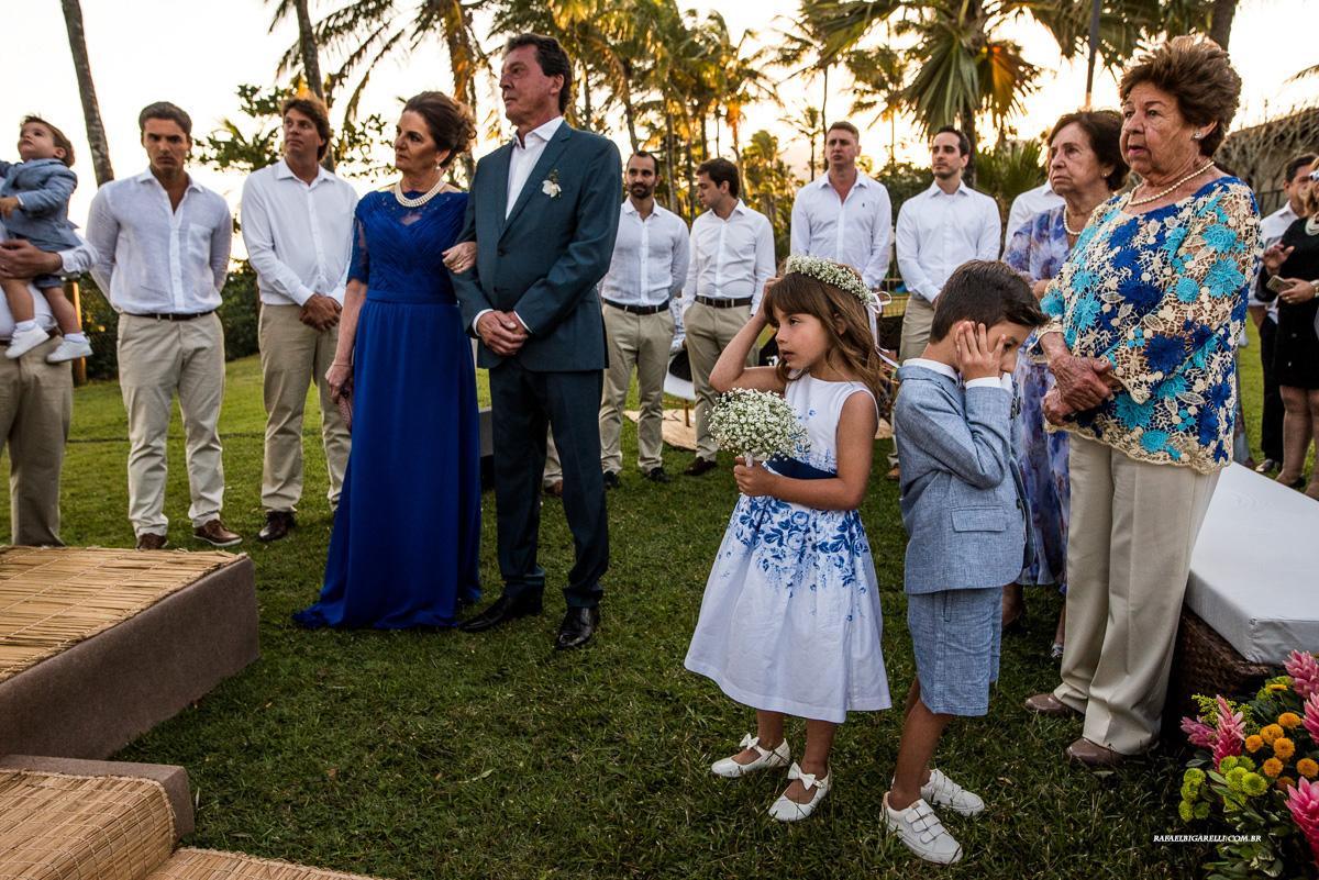 pagens de casamento na praia