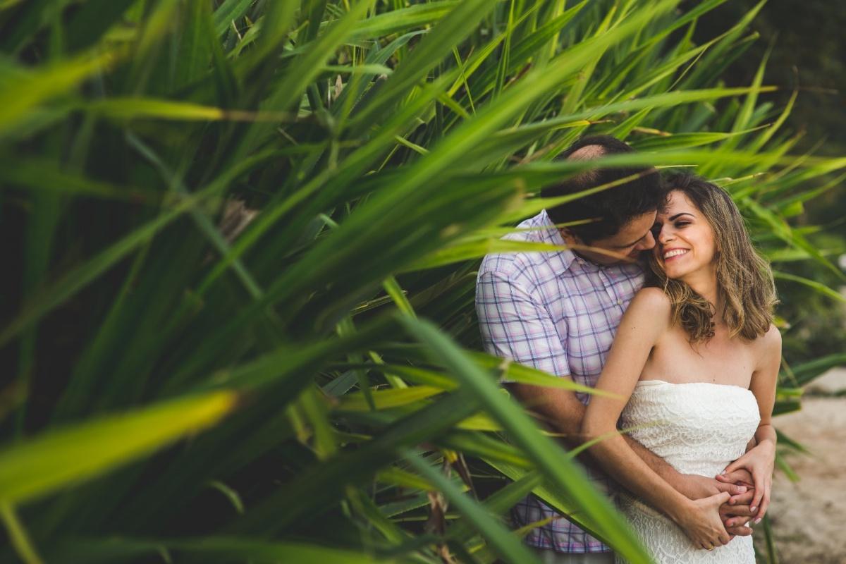 Capa do album das fotos do Pré - Wedding de Stênia + Daniel