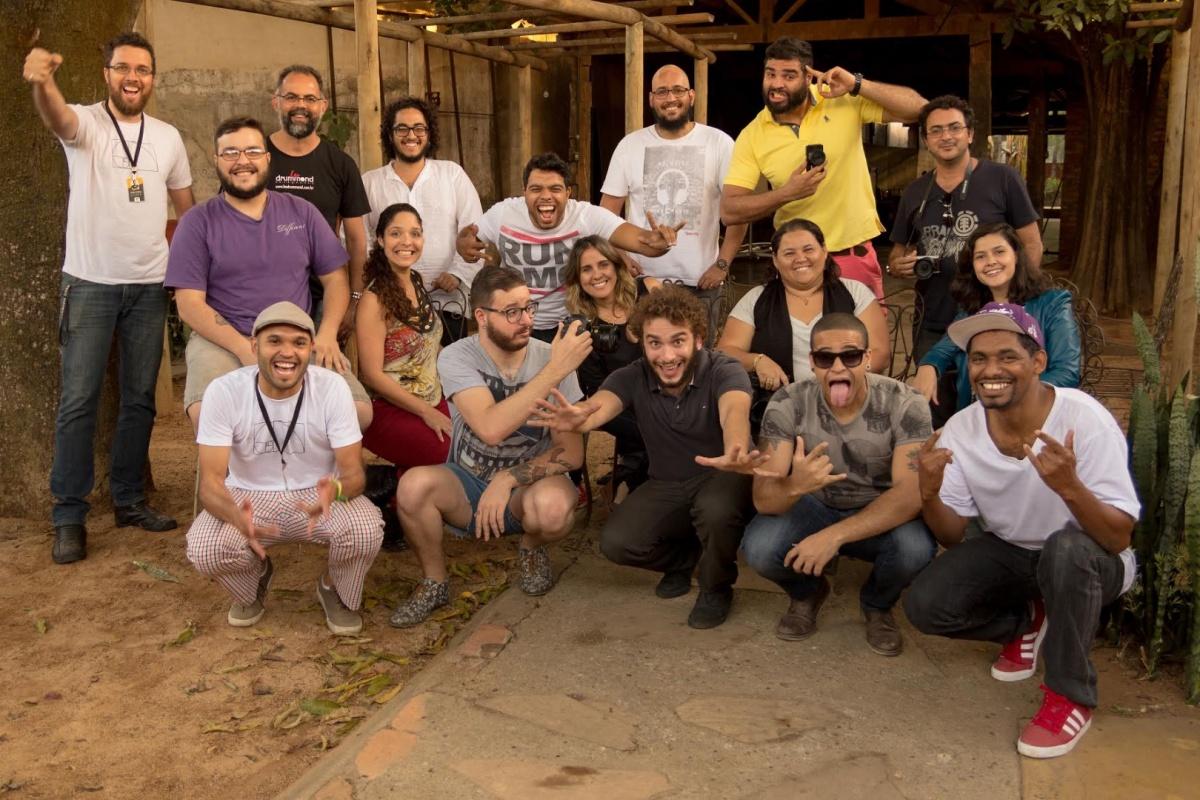 Capa do album das fotos do Workshop de Sete Lagoas - MG