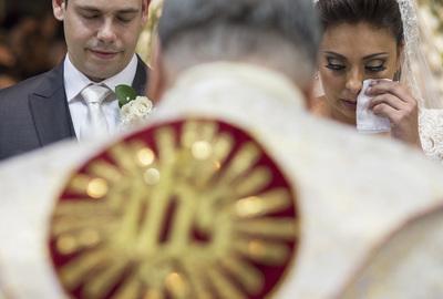Capa do álbum do Wedding de Ariane e Felipe fotografados por Rafael Bigarelli Fotógrafo de casamento