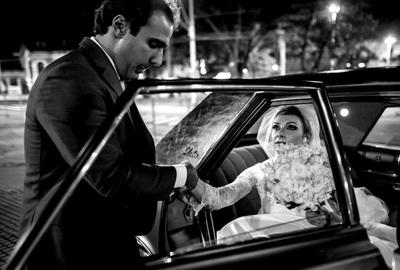 Capa do álbum do Wedding de Fran + André fotografados por Rafael Bigarelli Fotógrafo de casamento