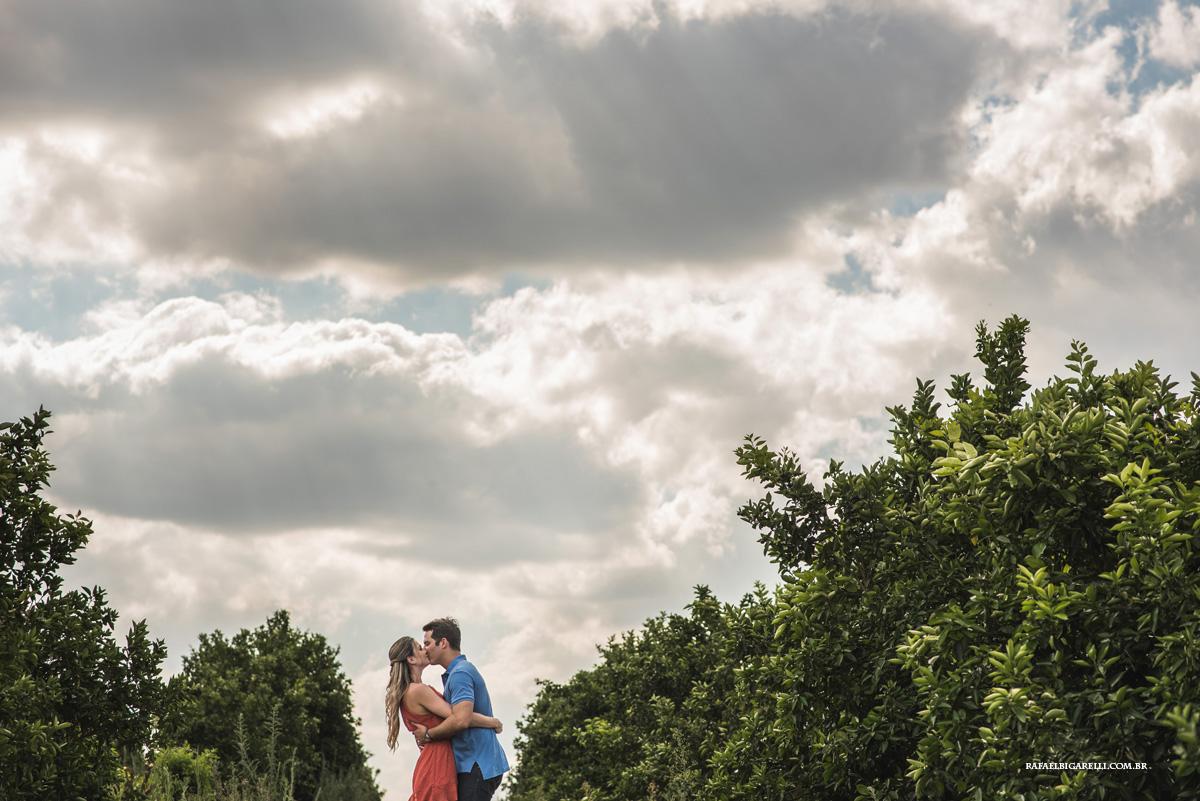 Capa do album das fotos do Pré - Wedding de Taty + Henrique