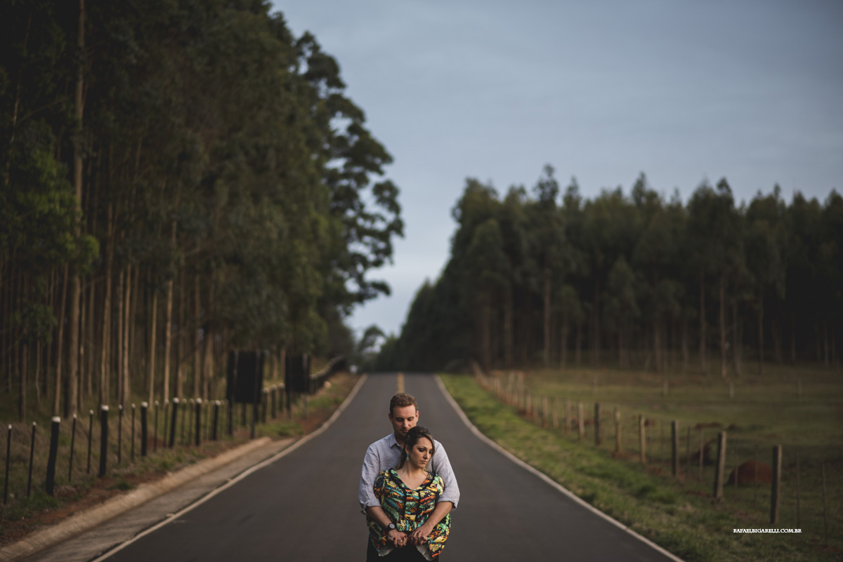 pre casamento na estrada
