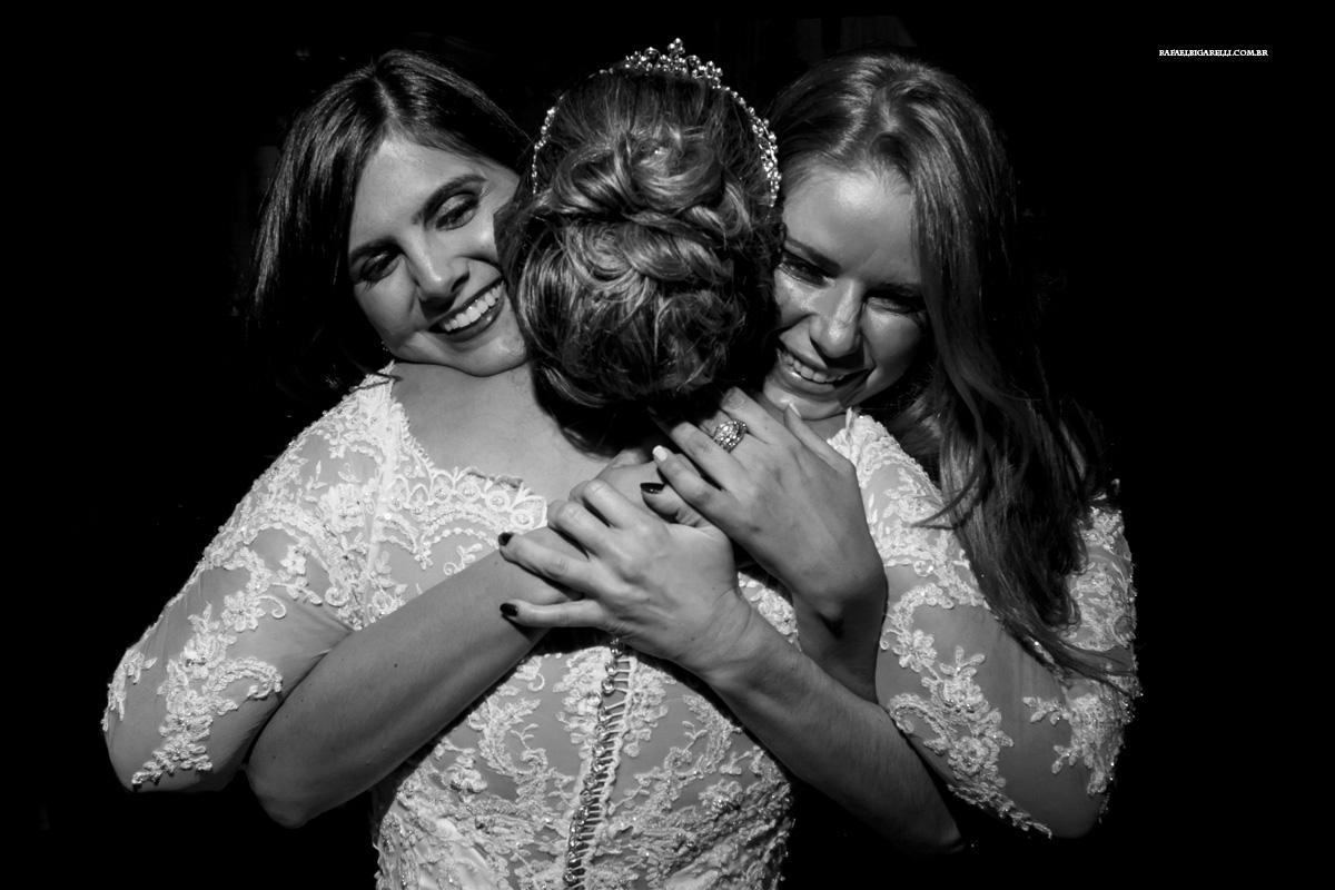 abraços na noiva