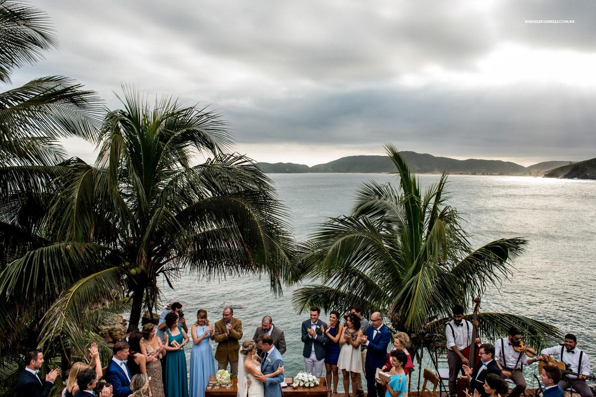 casamento na praia buzios