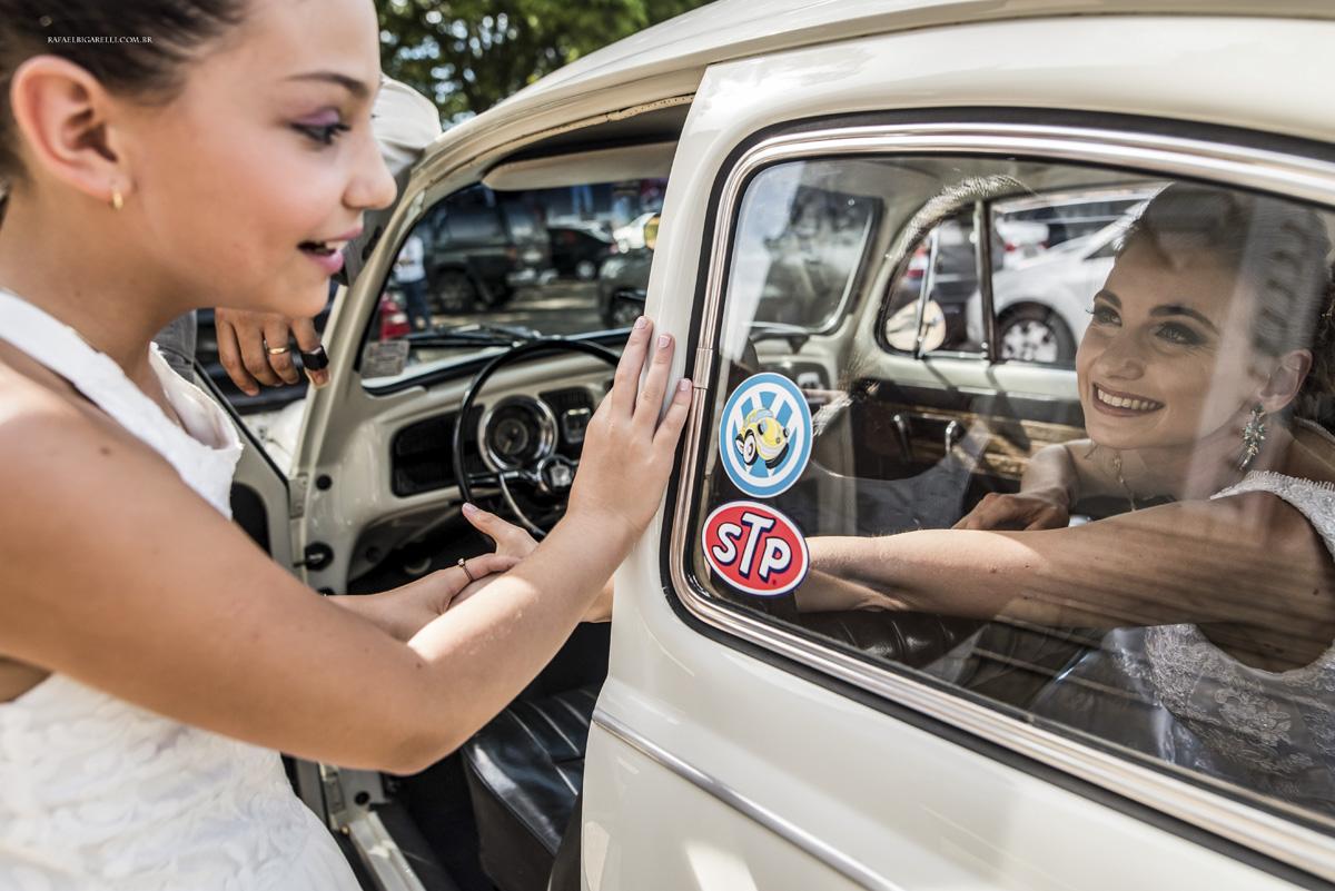 daminha encontra noiva no carro