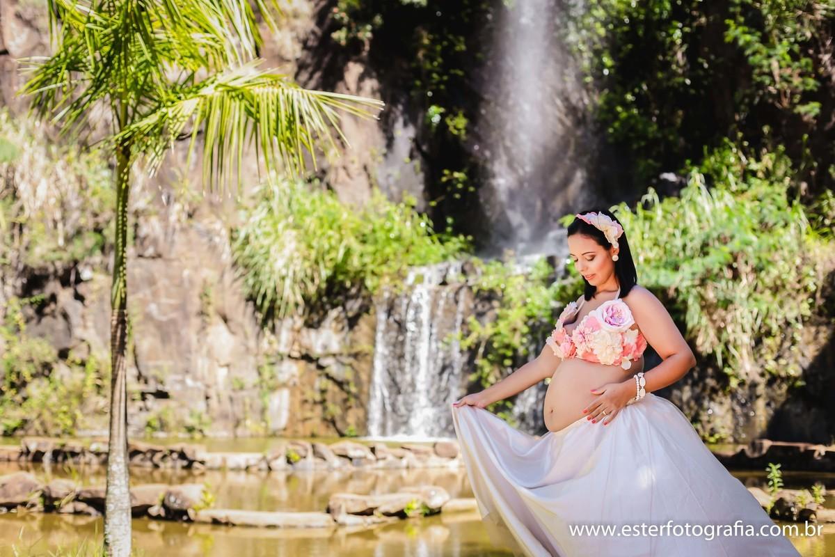 Fotografia de gravidas na Pedreira do Chapadão Campinas