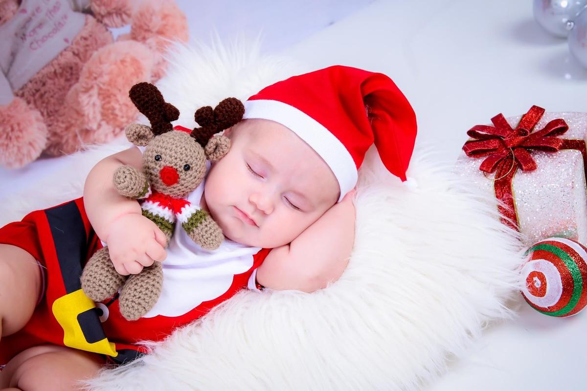 Fotos de bebe de Natal