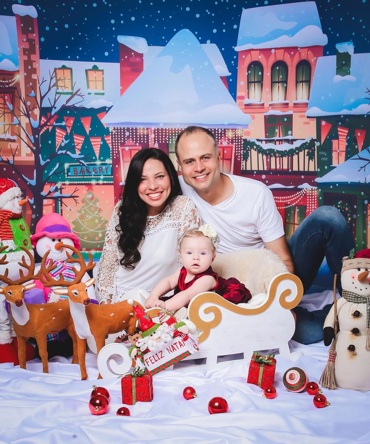 Fotos lindas de Natal Familia
