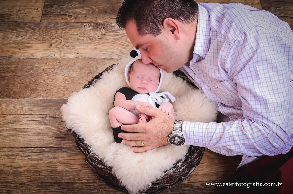 Fotografia de pais e bebes Campinas