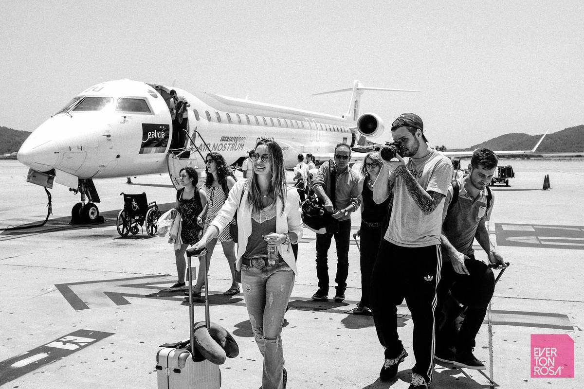 avisão Ibiza aeroporto