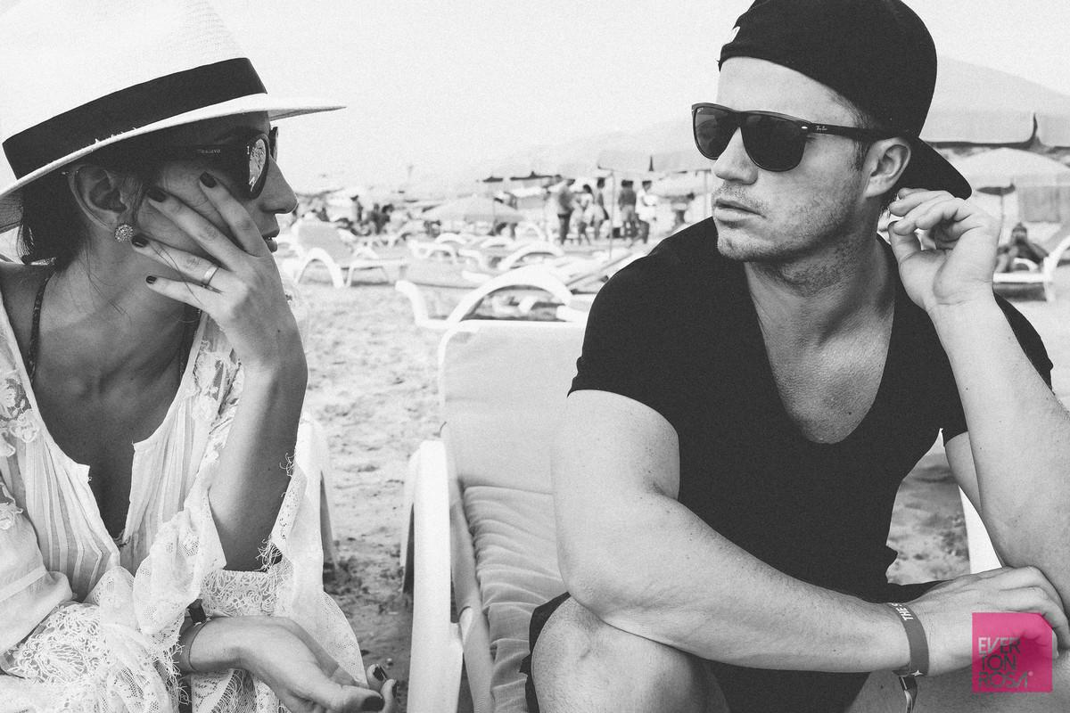 ensaio casal praia Ibiza